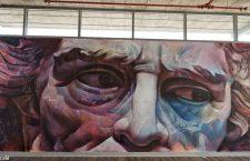 Primera intervención artística de PichiAvo en Barcelona