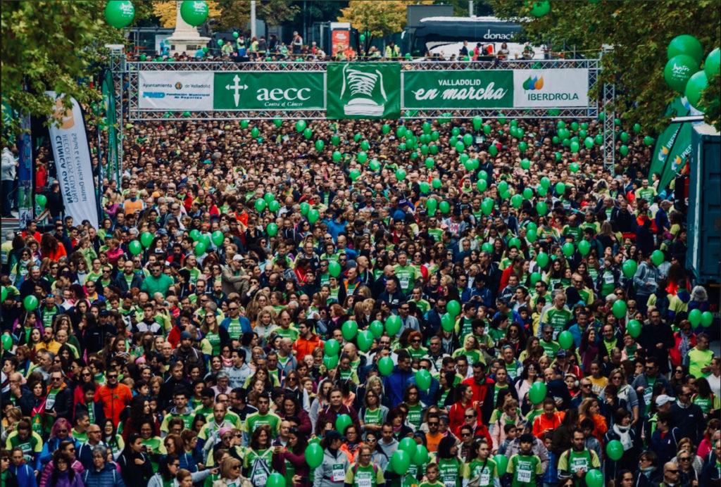 aecc. Valladolid en marcha
