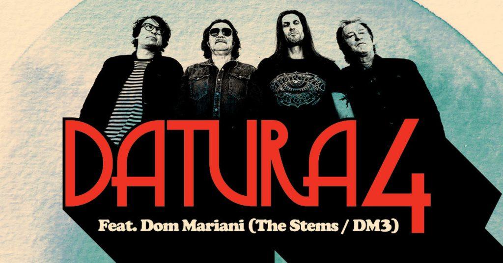 Datura4, con Dom Mariani