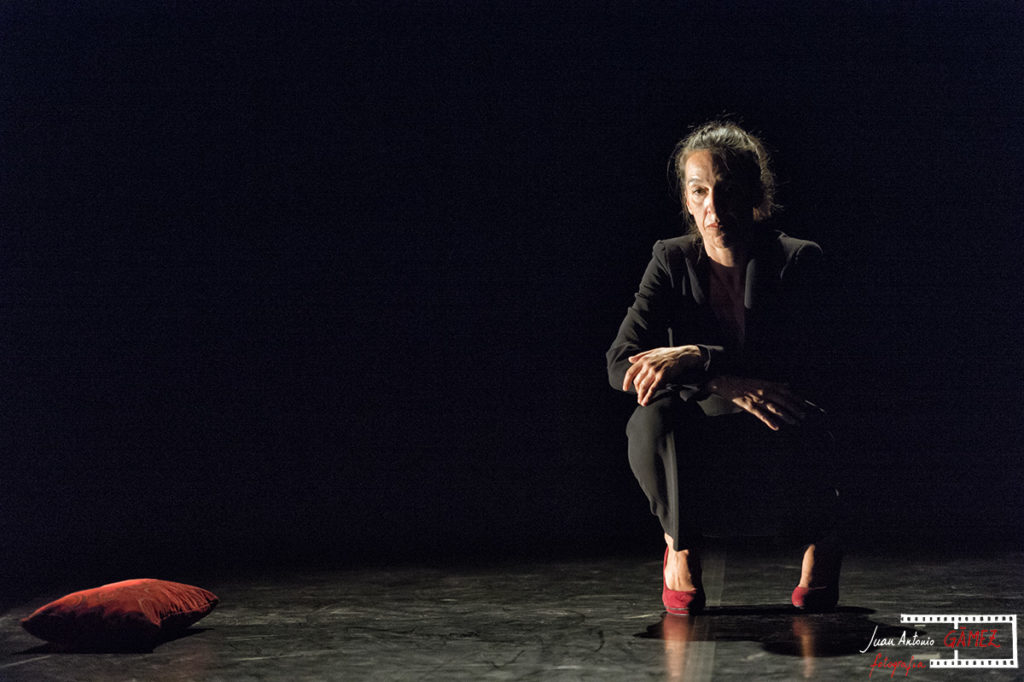 Laura Marrero, Descarga. Foto: Juan Antonio Gamez