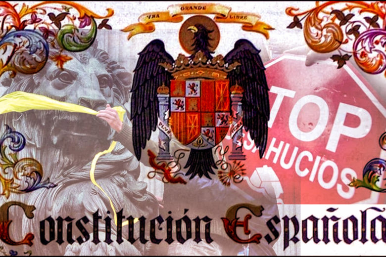 La Constitución española de 1978, sólo para lo que interesa