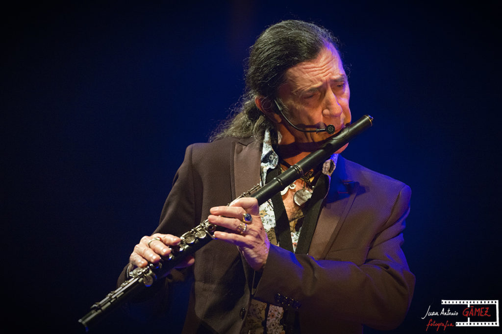 Jorge Pardo. Foto: Juan Antonio Gámez
