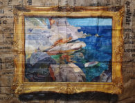 Julio Anaya Cabanding: Travesía Litoral del lienzo al cartón