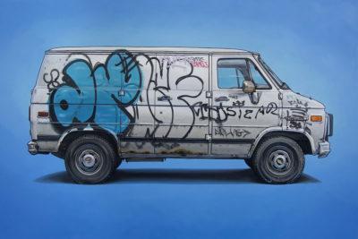 AMERICANA el metarrelato de una sociedad decadente en Plastic Murs