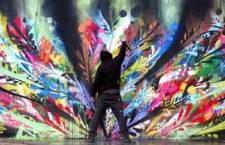 Recién Pintado – Just Painted arte urbano en Centro Cultural El Carmen
