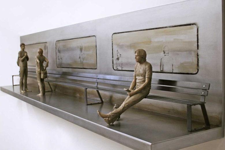 Diálogos X: pintura y escultura de Diego Benéitez y Marta Sánchez Luengo