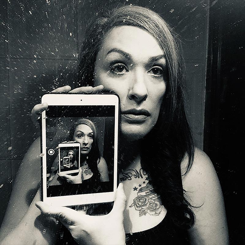 Roberta Marrero, Autorretratos en confinamiento, 2020