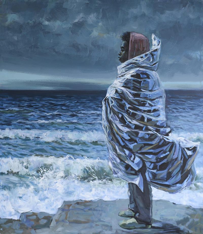 JOURNEY (3), 2020 Acrílico sobre lienzo 150 x 130 cm