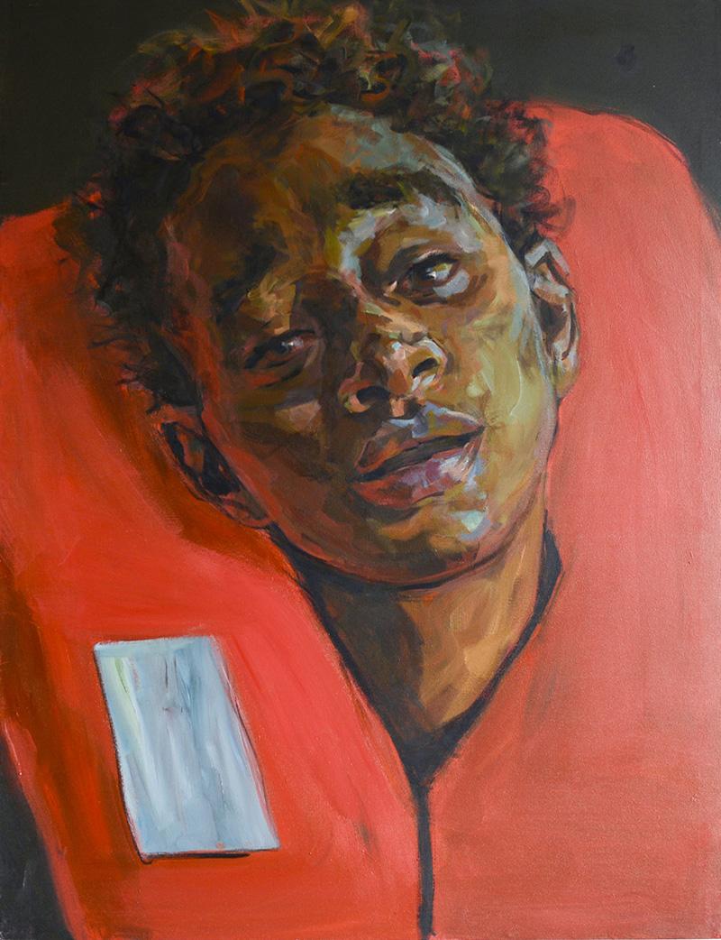 JOURNEY (8), 2020 Acrílico sobre lienzo 130 x 100 cm