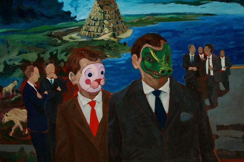 De lo místico y lo absurdo exposición de Juan Manuel Moreno Sánchez en Galeria Zunino