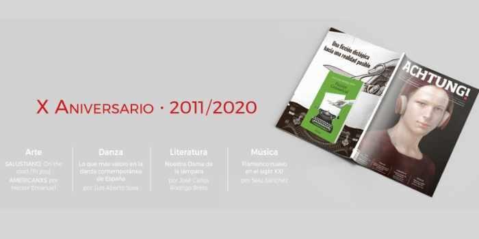 ACHTUNG! en papel X aniversario 2011 – 2020