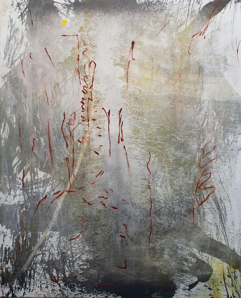 Sin título (Claramuntiano II) 2020 Acrílico sobre lienzo, 150 x 120 cm