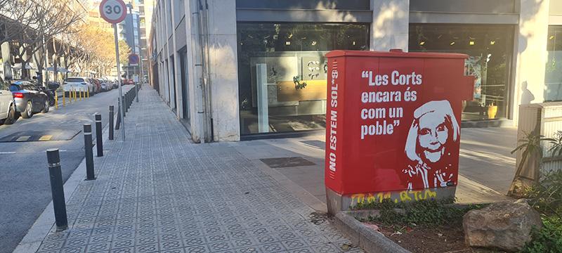 Intervención María Victoria García. Foto: Laura Abad
