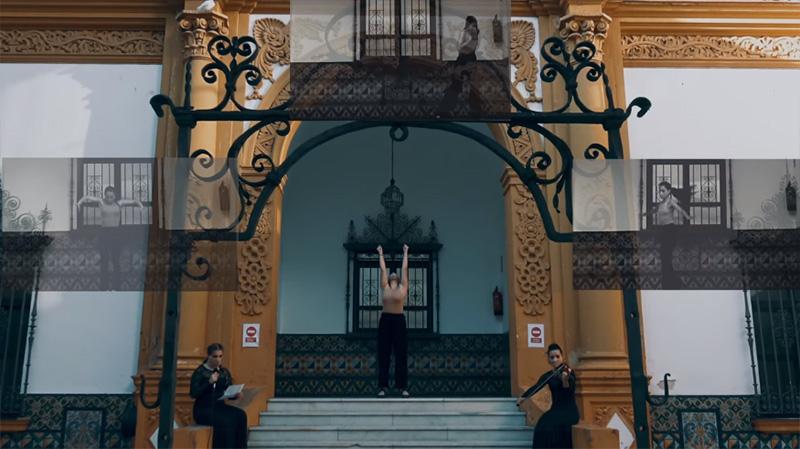 Día Internacional de la Eliminación de la Violencia contra la Mujer. Conservatorio Profesional de Danza de Sevilla Antonio Ruiz Soler