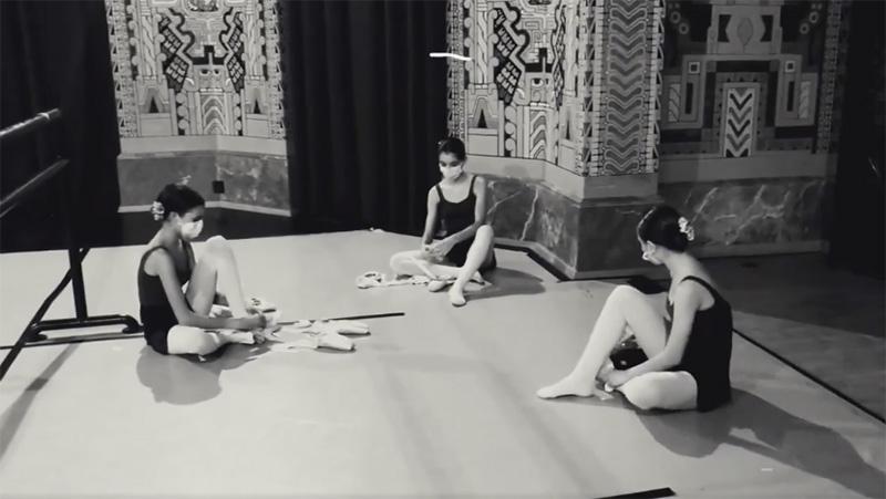 Día mundial del ballet. Conservatorio Profesional de Danza de Sevilla Antonio Ruiz Soler