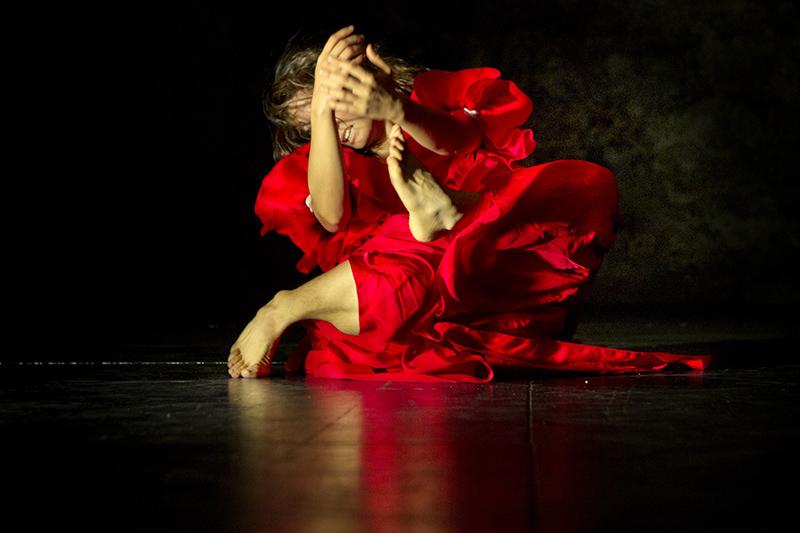 PATRICIA CABALLERO en Mes De Danza. Foto Luis Castilla