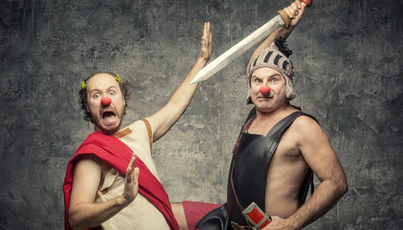 Una de romanos de Síndrome Clown, será una forma divertida de reencontrarse con la historia de la Sevilla romana
