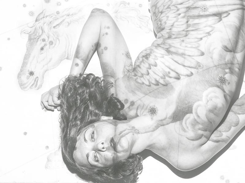 The Mindful Body. 2018 fotografía digital 52 x 35 cm.