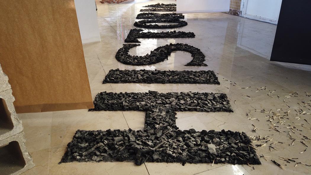 Blanco y Ceniza exposición de Juan Antonio Cerezuela en galería 13 ESPACIOarte