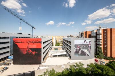 Dos nuevos murales de Axel Void en Livensa Living Sevilla