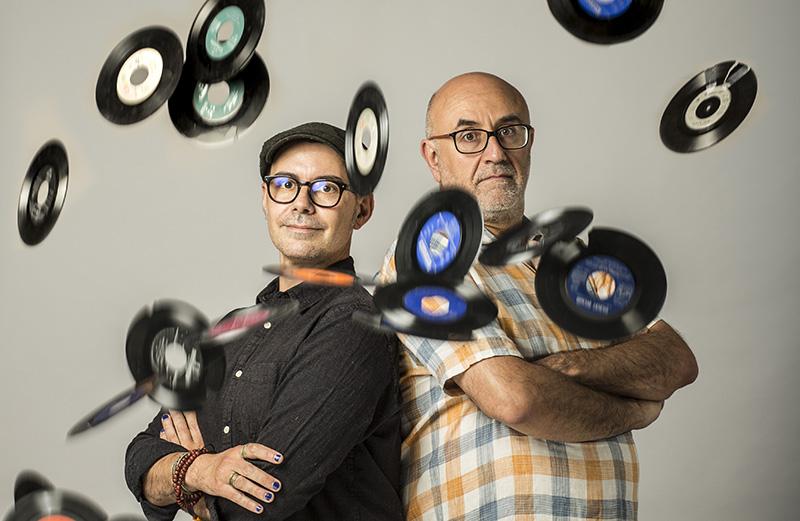 Alfredo Arias y Luis Miguel Flores. Foto: daltonic color obsesión