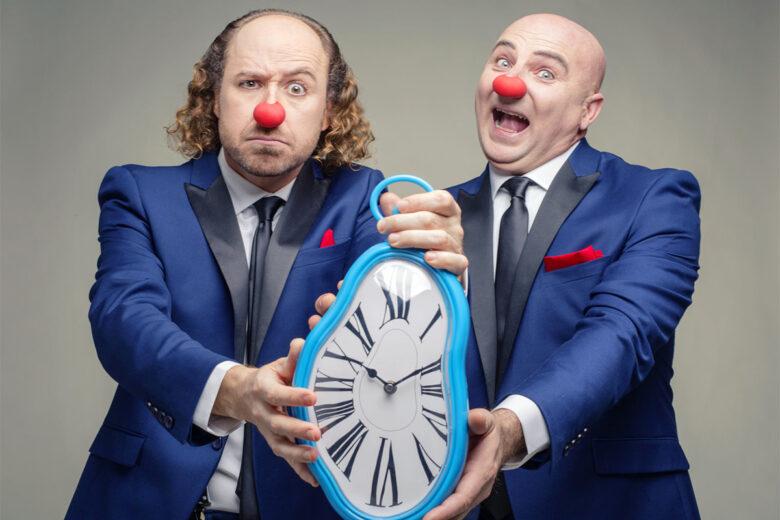 Síndrome Clown nos ofrecen una nueva oportunidad para disfrutar de Justo a Tiempo