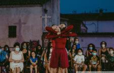 El Festival Huellas vuelve a resignificar el valor de una plaza de Aracena